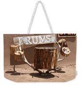 Taos Drum Shop Weekender Tote Bag