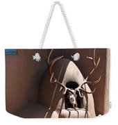 Taos Horno And Antlers Weekender Tote Bag