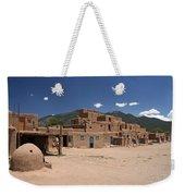 Taos Pueblo Weekender Tote Bag