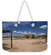 Taos Pueblo New Mexico Weekender Tote Bag