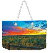 Taos Sunset Ix Weekender Tote Bag