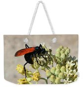 Tarantula Hawk Wasp Weekender Tote Bag