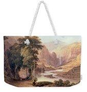 Tasmanian Gorge Weekender Tote Bag