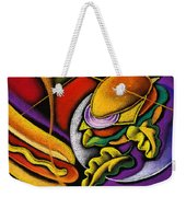 Lunch Time Weekender Tote Bag by Leon Zernitsky