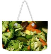 Tasty Veggie Stir Fry Weekender Tote Bag