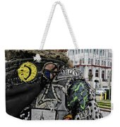 Tattoos And Patches Weekender Tote Bag