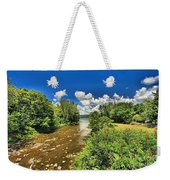 Taughannock Falls Creek Weekender Tote Bag