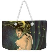 Taurus From Zodiac Series Weekender Tote Bag by Dorina  Costras