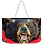 Taxidermy -  Black Bear Weekender Tote Bag