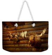 Taxidermy - The Hunting Lodge  Weekender Tote Bag