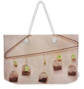 Tea Bags Weekender Tote Bag by Priska Wettstein