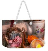 Tea Party - I Would Love To Have Some Tea  Weekender Tote Bag by Mike Savad