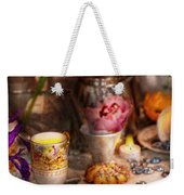 Tea Party - The Magic Of A Tea Party  Weekender Tote Bag