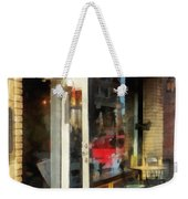 Tea Room In Sono Norwalk Ct Weekender Tote Bag by Susan Savad