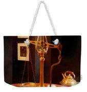 Tea Scale Weekender Tote Bag