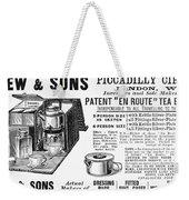 Tea Service, 1898 Weekender Tote Bag