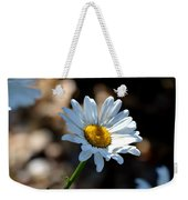Tea Stained Daisy Weekender Tote Bag