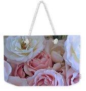 Tea Time Roses Weekender Tote Bag