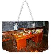 Teacher's Desk Weekender Tote Bag