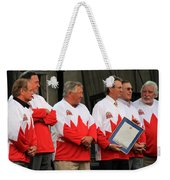 Team Canada 1 Weekender Tote Bag