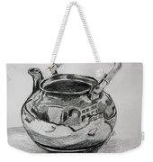 Teapot Reflections Weekender Tote Bag