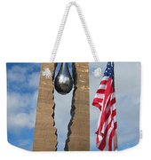 Teardrop Memorial Weekender Tote Bag