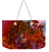 Tears Of Leaf  Weekender Tote Bag by Empty Wall