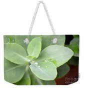 Tears Of Raindrops Weekender Tote Bag