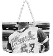 Ted Turner (1938- ) Weekender Tote Bag by Granger