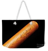 Ted Williams Little League Baseball Bat Weekender Tote Bag