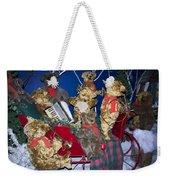 Teddy Bear Band Christmas Weekender Tote Bag