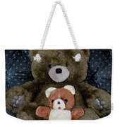 Teddy Elder Care Bear Weekender Tote Bag