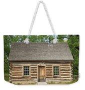 Teddy Roosevelt's Maltese Cross Log Cabin Weekender Tote Bag