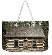 Teddy Roosevelt's Maltese Cross Log Cabin Retro Style Weekender Tote Bag