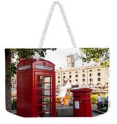 Telephone And Mail Box Weekender Tote Bag