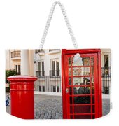 Telephone And Post Box Weekender Tote Bag