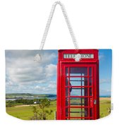 Telephone Anyone Weekender Tote Bag