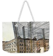 Telephone/telegraph Lines Weekender Tote Bag