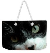 Tell Me About Your Day Weekender Tote Bag