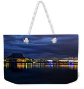 Tempe Arts Center At Sunset  Weekender Tote Bag