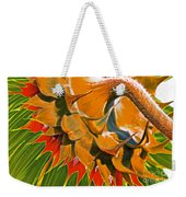 Temperatures Rising Weekender Tote Bag