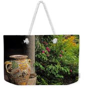 Temple And Garden Urn, The Wild Garden Weekender Tote Bag