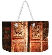 Temple Door Weekender Tote Bag