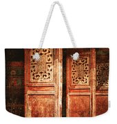 Temple Door Weekender Tote Bag