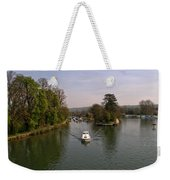 Temple Lock On The River Thames Weekender Tote Bag
