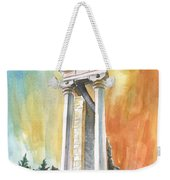 Temple Of Apollo In Kourion Weekender Tote Bag