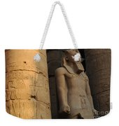 Temple Of Luxor  Egypt Weekender Tote Bag
