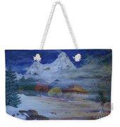 Temple Of The Snows Weekender Tote Bag