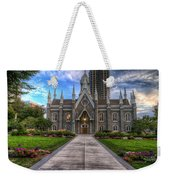 Temple Square Assembly Hall Weekender Tote Bag
