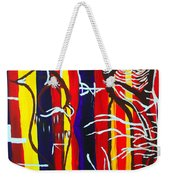 Temptation Of Jesus Weekender Tote Bag